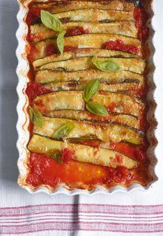 Überbackene Zucchini Rezept - [ESSEN UND TRINKEN]