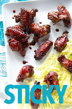 Malaysian Street Food Style Sticky Wings