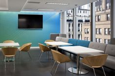 Lipse Chairs inside RS Investments in San Francisco - designed by Huntsman Architectural Group