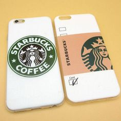 2017 Fashion Starbuck Coffee Cup Logo Phone Case Cover For iPhonen 6Plus 5.5 6 4.7 S 5S 5C SE 4 4S Samsung Galaxy