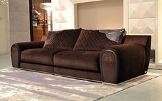 Fabulous Fendi Sofa... can't afford it? Check out our Monika Love Seat and Sofa Set. http://naderslp.com/monika2piecestationaryloveseatandsofagroup.aspx