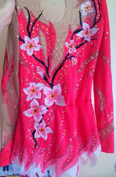 Competition Rhythmic Gymnastics Leotard SOLD by Savalia on Etsy, $285.00