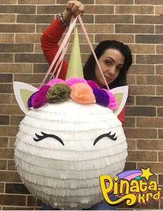 Pinata unicorn, пиньята единорог