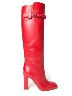 Shop Valentino Garavani over the knee boots in Kirna Zabête from New York, NY