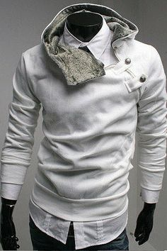 Collar Jacket Fashion Mens Casual Stylish by DiversionOutfits,  55.00  Jacket Style, Hoodie Sweatshirts, 51b5c8057c0