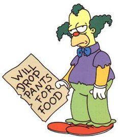 Krusty the Clown.