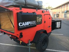 outdoor rugged camper
