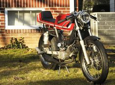 What is possible with a Tomos Revival, the right parts, and a clear vision.