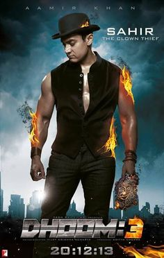 In pics: Aamir Khan's role revealed in Dhoom 3