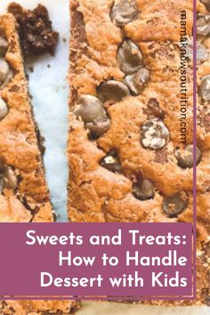 How to limit dessert for kids without being too restrictive, and how to handle sweets and treats for kids in a healthy way - tips from a Registered Dietitian Nutritionist #healthydessert #toddlerfood #parentingtips Healthy Meals For Kids, Kids Meals, Toddler Nutrition, Registered Dietitian Nutritionist, Kid Desserts, Toddler Meals, Sweets, Lunch, Handle