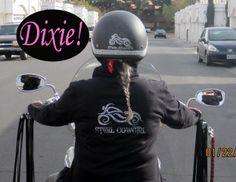 Motorcycle STEEL COWGIRL Pinterest Biker Chick - Helmet decals motorcycle womens