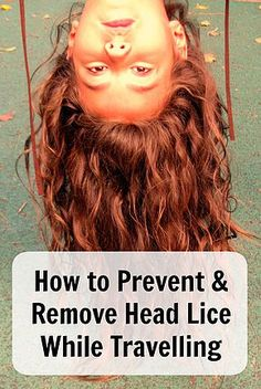 How to Prevent & Remove Head Lice While Travelling. Learn how to treat nits when you don't have acess to a pharmacy. Ann K Addley travel blog