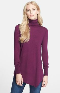 Joie 'Nilsa' Sweater available at #Nordstrom. I like the hem line