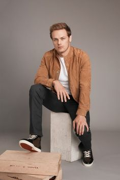 OUTLANDER STAR SAM HEUGHAN IS A STYLISH SCOTTISH REBEL IN REAL LIFE, TOO —   The actor explains his style, partnership with Barbour, and the success of his show.