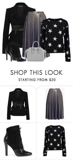 """Stars on my sweater"" by danniss ❤ liked on Polyvore featuring Tom Ford, Ted Baker, 3.1 Phillip Lim, Boohoo and Givenchy"