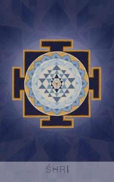 "श्री Resplendent Creative Cosmology ""I receive the full blossoming of love and devotion"" Mantra: Mā Sacred Geometry Art, Sacred Art, Sacred Symbols, Mandala Drawing, Mandala Art, Tantra Art, Shri Yantra, Kali Goddess, Madhubani Art"