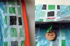 Tus Manos y las Mias: FINDE FRUGAL Reciclando bolsas plásticas. recycling plastic bags
