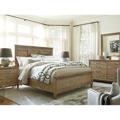Universal Furniture Moderne Muse Platform Customizable Bedroom Set