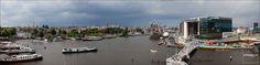 oude schans oosterdok panorama