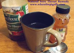 This is a great all-natural sore throat remedy!