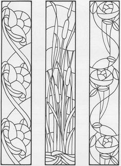 Sidelights, Fanlights and Transoms Stained Glass Pattern Book - Cool Glass Art Designs Faux Stained Glass, Stained Glass Designs, Stained Glass Panels, Stained Glass Projects, Stained Glass Patterns, Mosaic Patterns, Glass Painting Designs, Mosaic Glass, Mosaic Mirrors