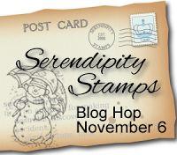 SERENDIPITY STAMPS~NOV BLOG HOP