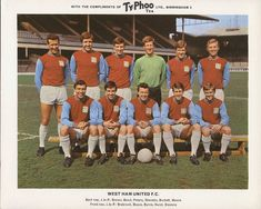 theyflysohigh website dedicated to collecting and recording West Ham United memorabilia from the formation of the club in 1895 West Ham United Fc, Retro Football, Football Team, Football Cards, West Ham Team, Geoff Hurst, Martin Peters, Typhoo, Bristol Rovers