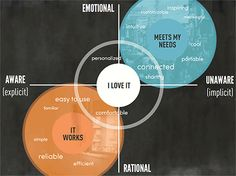 Emotional and rational responses and the corresponding levels of awareness / Kelly Goto