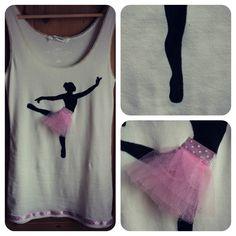 Ballerina-T-shirt