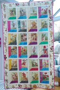 my flower fairy alphabet quilt