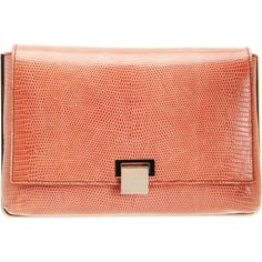 The Row Lizard Metal Frame Clutch (46.933.855 IDR) ❤ liked on Polyvore