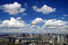 東雲のタワーマンションからの雲の眺望 (6)