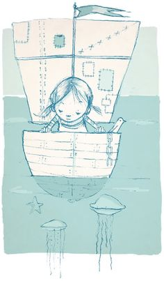 sailing girl - that's me and my boat^^