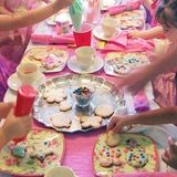 We celebrated my daughter's third birthday with a Toddler Tea Party