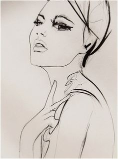 Substitute | Leigh Viner #fashion #illustration