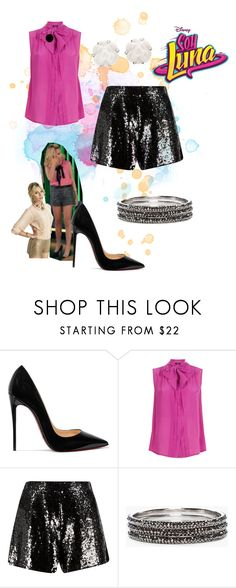 """soy luna"" by maria-look on Polyvore featuring Christian Louboutin, Weekend Max Mara, Chico's and Chanel"