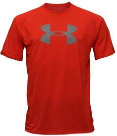 Under Armour Men's Big UA Logo Shirt-Red « Impulse Clothes