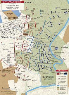 Antietam - The Final Assault - to Dark American Revolutionary War, American Civil War, American History, Mystery Of History, Us History, Ancient History, Abraham Lincoln Civil War, Battle Of Antietam, Civil War Books