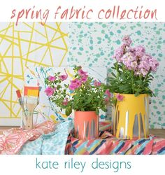spring fabric collection kate riley designs