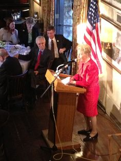 Phyllis Schlafly's bio is remarkable - at the podium. Feb. 15, 2013