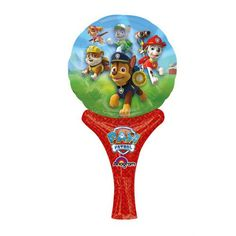 Character Nickelodeon Paw Patrol 'Inflate A Fun' Shaped Balloon Foil Party Accessories - of the month coupon One Balloon, Rainbow Balloons, Foil Balloons, Paw Patrol Party Supplies, Party Supplies Australia, Open A Party, Mini Hands, Love Coupons, Party Accessories