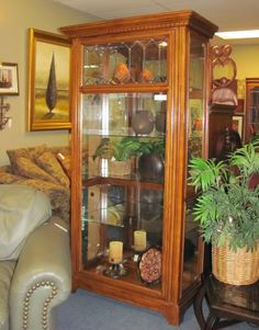 Curio $395.00. - Consign It! Consignment Furniture