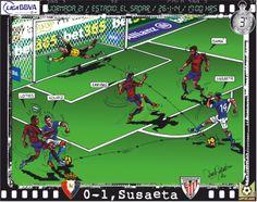 CA Osasuna, 1 - Athletic Club, 5 - Markel Susaeta, 0-1, min.3'