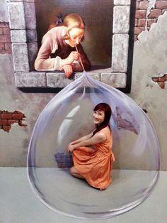 be in bubble