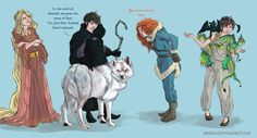 You know nothing, Frost by Azeher.deviantart.com on @deviantART