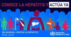 Día Mundial contra la Hepatitis 2016 - OMS - Conoce la hepatitis y actúa ya