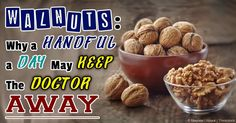 Among all nuts, walnuts may be the king because they help improve your health in number of ways -- here are some seven benefits of walnuts. http://articles.mercola.com/sites/articles/archive/2014/05/19/7-walnuts-benefits.aspx