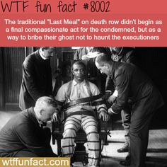 Last meal - WTF fun fact