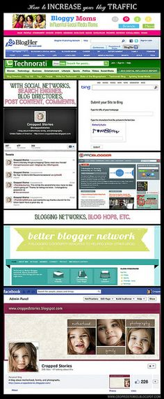 How to increase your blog traffic (and make new friends) via Cropped Stories!