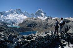 La laguna de Cullicocha, en la Cordillera Blanca.